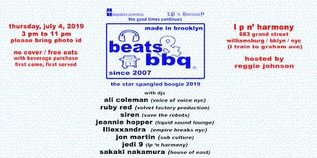 Beats & BBQ: The Star Spangled Boogie 2019 tickets