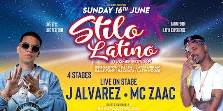 Stilo Latino Summer Festival 2019 tickets