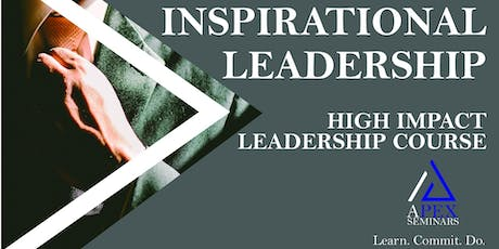 Inspirational Leadership (Signature Course) tickets