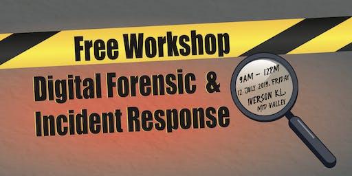 Free Workshop: Digital Forensics & Incident Response