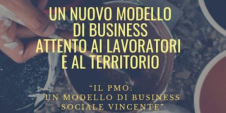 Il PMO: un nuovo modello di business sociale vincente biglietti