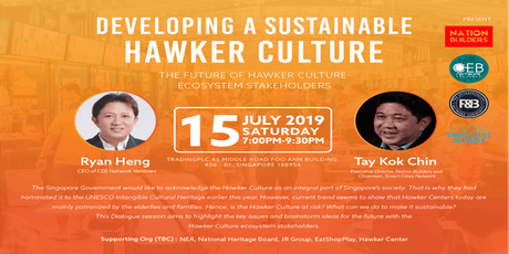 Developing A Sustainable Hawker Culture  tickets