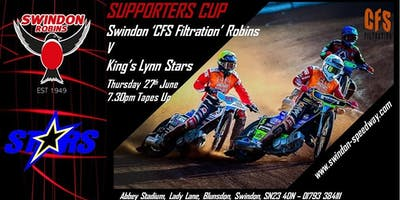 Swindon Robins V Kings Lynn Stars
