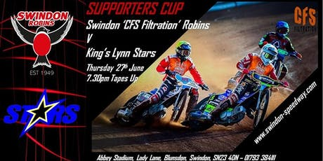 Swindon Robins V Kings Lynn Stars tickets