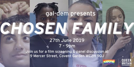 gal-dem Presents: Chosen Family - Screening and Panel Discussion