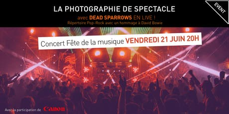 PHOTOGRAPHIE DE SPECTACLE billets