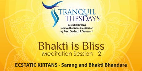 Meditation in Pune | Tranquil Tuesday tickets