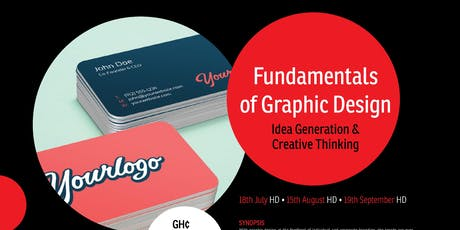 Fundamentals Of Graphic Design- Idea Generation and Creative Thinking tickets
