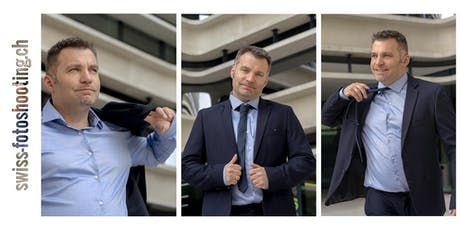 Fotoshooting Business-Portrait in Zürich Tickets