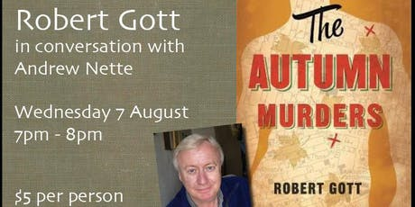 Robert Gott in conversation at Brunswick Bound tickets