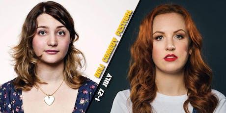 Laura Davis & Catherine Bohart - Deli Comedy Festival  tickets