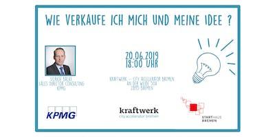 """""""Wie verkaufe ich mich und meine Idee"""" - Ulrich Balke (KPMG)"""