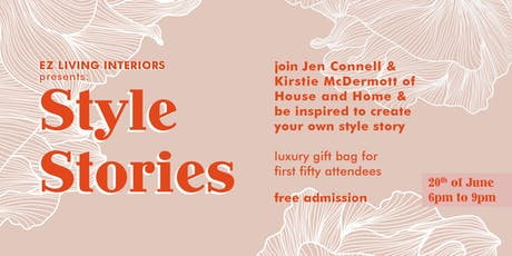 EZ Living Interiors presents Style Stories | Flagship Store Sandyford tickets
