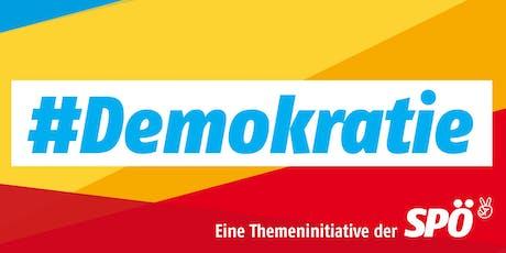 Themeninitiative Demokratie Tickets