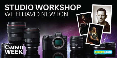 Studio Workshop with David Newton & Canon tickets
