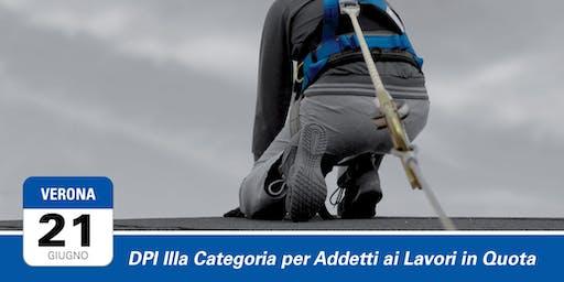 DPI IIIa Categoria per Addetti ai Lavori in Quota | Verona