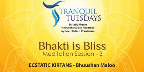 Meditation at Tranquil Tuesdays tickets
