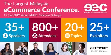 Exabytes eCommerce Conference 2019 tickets