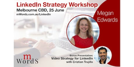 LinkedIn Strategy Training for Business Owners + Professionals tickets