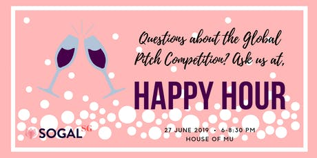 SoGal Singapore Happy Hour tickets