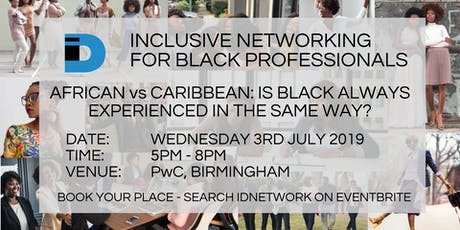 AFRICAN vs CARIBBEAN: Is Black always experienced in the same way? tickets