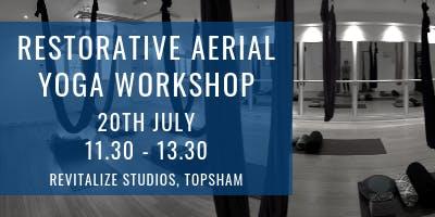 Restorative Aerial Yoga Workshop