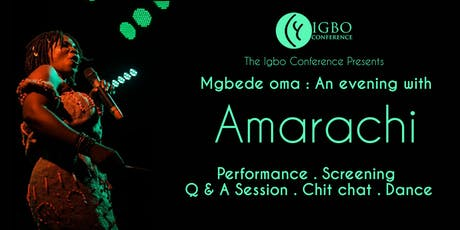 Mgbede Oma : An evening with Amarachi & Premiere of Wounded Biafra Veterans Film tickets