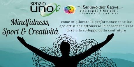 Mindfulness, Sport & Creatività biglietti