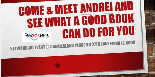 Readsters - Come & Meet Andrei to see what a good book can do for you!
