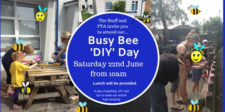 Busy Bee DIY Day tickets