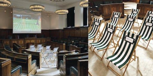 Town Hall Hotel screens Wimbledon 2019