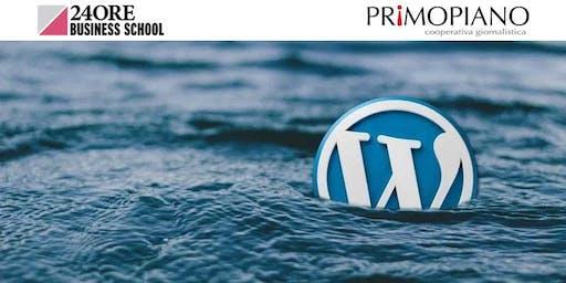 Corso Professione Blogger con WordPress