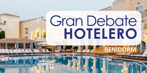 GRAN DEBATE HOTELERO BENIDORM, 18 DE JUNIO 2019