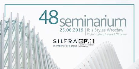 48 Seminarium PMI PC Wrocław Branch  tickets