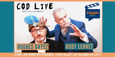 COD LIVE à Mons ! Critic On Demand avec Hugues Dayez et Rudy Leonet