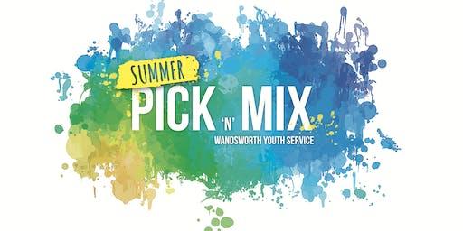 Summer Pick n Mix - Graffiti workshop