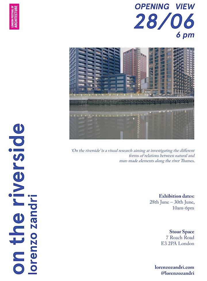 """On the riverside"" Exhibition | Lorenzo Zandri | LFA 2019 image"