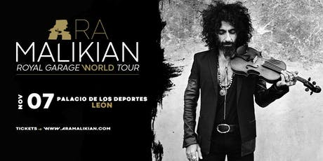 Ara Malikian en  León - Royal Garage World Tour entradas