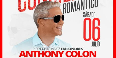 Anthony Colon - Super concierto de Salsa Romantica tickets