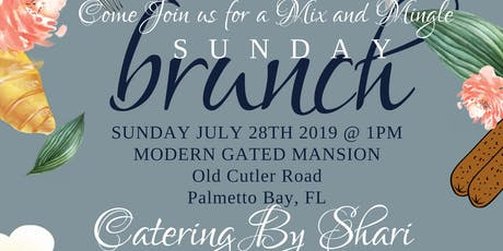 Mix and Mingle Sunday Brunch tickets