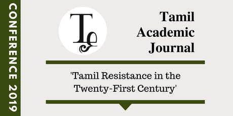 Tamil Academic Journal Conference 2019 tickets