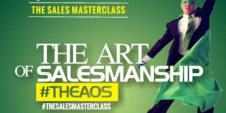 SME ECONOMY AFRICA MASTERCLASS (THE ART OF SALESMANSHIP tickets