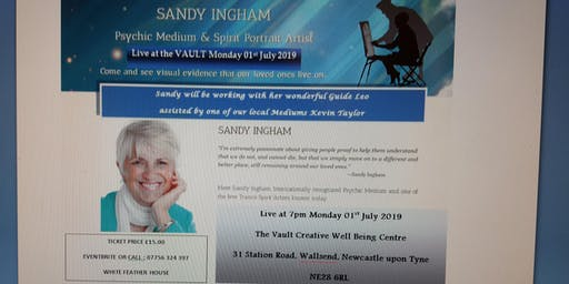 Sandy Ingham - Evening of Clairvoyance with Psychic Art