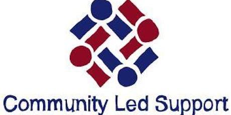 Community Led Support Workshop 28 June - Morning tickets