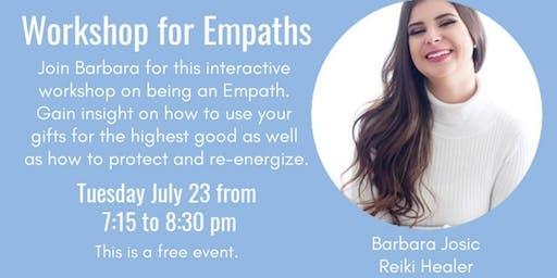 FREE Workshop for Empaths