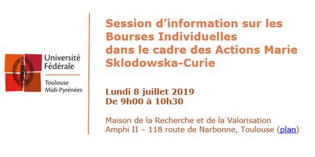 Session d'information: Bourses Individuelles Actions Marie Sklodowska-Curie billets