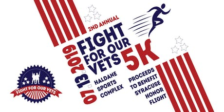 Fight for our Vets 5K event 2019 tickets