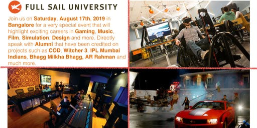 Full Sail University, Career Day, Bangalore