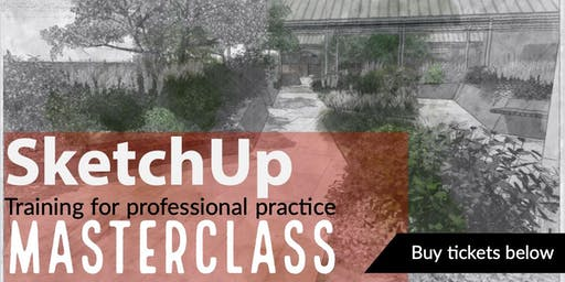 SketchUp; Training for professionals Masterclass