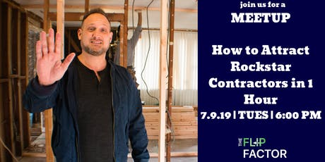 How to Attract Rockstar Contractors in 1 Hour tickets